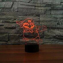 Dwthh Moderne Comic-Figuren Form Tischlampe 7