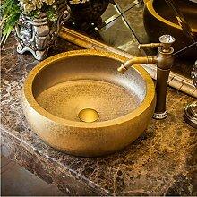 dwthh Oriental Art handgeschnitzte Keramik