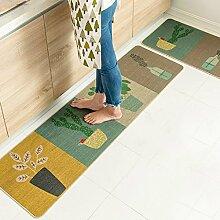 DWW Küche Teppiche kreative Illustrationen