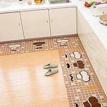 DWW Küche Teppiche rutschig Splitter Wasser
