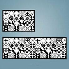 DWW Küchen-Teppiche lange Faser Verdickung
