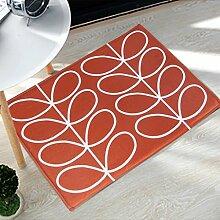 DWW Küchenteppiche 40 * 60 cm Zwei Stück