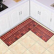 DWW Küchenteppiche langer Streifen aus