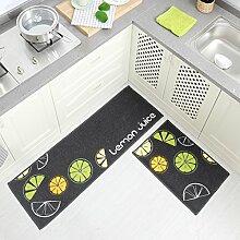 DWW Küchenteppiche rutschfeste Haushaltswasser -
