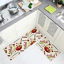 DWW Küchenteppiche Teppich rutschfeste Haustür
