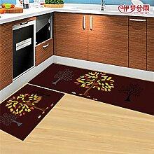 DWW Küchenteppiche wasserdichter Streifen