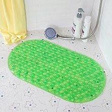 DXG&FX Anti-rutsch badvorleger anti-sliping badvorleger saug tasse massagematte-C 39x70cm(15x28inch)