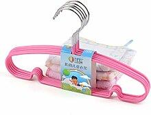 DXG&FX Anti-Rutsch kleiderbügel für Kinder Baby