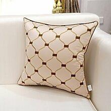 DXG&FX European-Style Stickerei Sofa Kissen Kissen