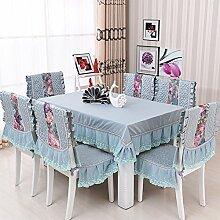 DXG&FX Garden Fresh und Stilvolle Tischdecke Stoff