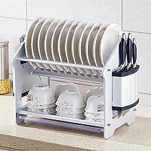 DXG&FX Space Aluminium Geschirrablage Küche