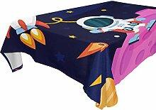 DXG1 Tischdecke für rechteckige Tische, 152,4 x