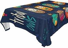 DXG1 Tischdecke mit niedlicher indischer Eule, 137