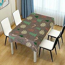 DXG1 Tischdecke mit Weihnachtsbaum, Tischdecke