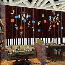 Dxyily Piano Moderne Musik Tapeten Für Wohnzimmer