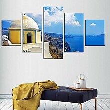 DXZJN 5 Gemälde auf Leinwand Leinwand Wandkunst