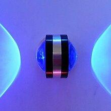 DXZMBDM® 2W Moderne LED-Wandleuchte mit UFO