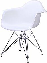 DY Barhocker Dongy Kunststoff Stuhl Armlehne