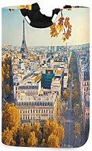 DYCBNESS Wäschesack,Herbst Luftbild Eiffelturm