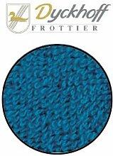 Dyckhoff Badteppich petrol - blau - rund 100 cm