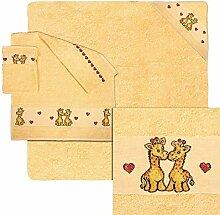 Dyckhoff Handtuch Set Bobo mit Giraffen und
