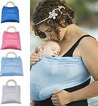 Dyda6 Baby-Tragetuch mit Doppelring-Wasserschlinge