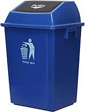 DYFYMX Flip Kunststoff-Vierkantrohr Mülleimer