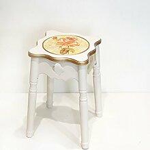 DYFYMX Mode Hocker Mode Kreative Home Dining Stuhl Hocker Modernen Hocker Stapeln Sofa Hocker Freizeit Hocker Möbel (Farbe : A)
