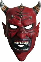 DYMAS Dekoration Halloween Teufel Hörner Maske