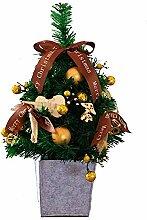 DYMAS Weihnachtsbaum-45Cm Mini Weihnachtsbaum