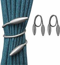 Dyna-Living 2 Stück magnetische Twisted Vorhang