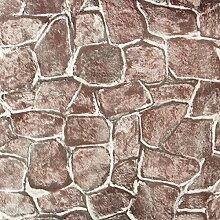 DyNamic 10m rustikalen roten Stein selbstklebende