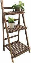 Dynamic24 Holz Pflanztreppe Blumentreppe