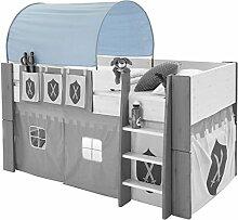 Dynamic24 Molly Kids Spieltunnel Blau