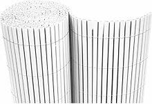 Dynamic24 PVC Sichtschutzmatte Balkon Sichtschutz