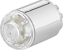 Dynamo-LED-Wasserhahnaufsatz zur