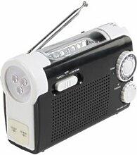 Dynamo-Radio mit Taschenlampe - TORCH-EMC-01
