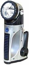 Dynamo Standlampe Praktische Taschenlampe mit 3