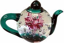 Dynasty Gallery Glas-Teekanne Briefbeschwerer