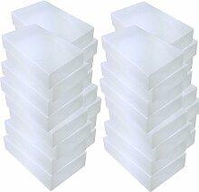 DYNASUN 32x PP384 Schuhbox Schuhkasten Lagerkasten
