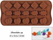 DYTJ-Molds Formen Silikon Schokoladenform 25