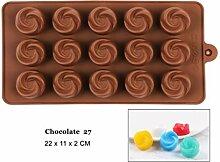 DYTJ-Molds Formen Silikon Schokoladenform 29