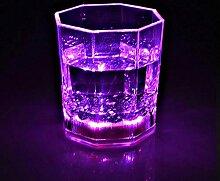DYTJ-Weingläser Led-Lampe Kunststoff Transparent