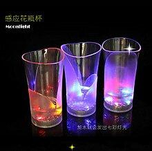 DYTJ-Weingläser Led Lampe Kunststoff Transparent
