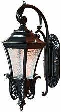 DYXYH Europäische Retro Hoflampe LED Wohnzimmer