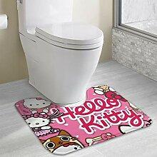 DZNLHM Gummi-Teppich, Verschiedene Hello Kitty,