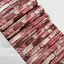 Dzrmb Vintage Bricks Strukturierte Tapete Für