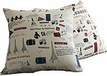 DZW Kissen halten Kissen Geometrie Streifen Nordic Einfach Moderne Sofa Kissen Kern mit , 4, Eine Vielzahl von Stilen