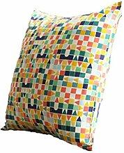DZW Kissen halten Kissen Geometrie Streifen Nordic Einfach Moderne Sofa Kissen Kern mit , 9, Eine Vielzahl von Stilen