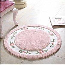 DZW Runde Boden Teppich Matte lebende Esszimmer